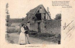 V9869 Cpa 37 Courçay - France
