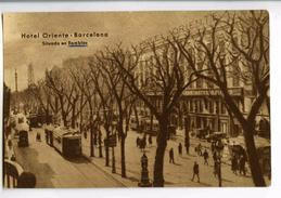 A 19920   -   Barcelona  -  Hotel Oriente  -  Situado En Ramblas  -  Espagne - Hotels & Restaurants