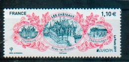 France - Europa 2017, Châteaux, Val De Loire, Patrimoine Mondial UNESCO / Loire Valley, Castles, World Heritage - MNH - Schlösser U. Burgen