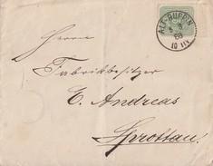 DR Brief EF Minr.39 ZW Oben K1 Alt-Ruppin 5.3.88 - Briefe U. Dokumente