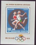 HUNGARY 2442,unused,olimpic Sport - Zomer 1968: Mexico-City