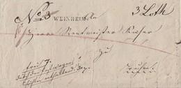 Baden Brief L1 Weinheim Ansehen !!!!!! - Baden