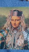 CPM LA JOCONDE MONA LISA DETOURNEE EN FATMA TUNISIE HUMOUR - Paintings