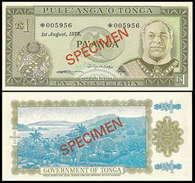 Tonga 1 Paanga 1978 Specimen UNC - Tonga