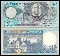 Tonga 10 Paanga 1995 P34c UNC - Tonga