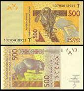 Togo WAS 500 Francs 2013 UNC - Togo