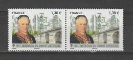 FRANCE / 2017 / Y&T N° 5153 ** : Louis Vicat & Ciment Artificiel X 2 En Paire - France