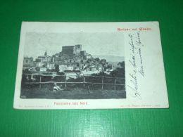 Cartolina Soriano Nel Cimino - Panorama Lato Nord 1904 - Viterbo