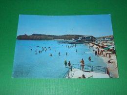 Cartolina Cagliari - Sella Del Diavolo - Spiaggia Del Poetto 1965 - Cagliari