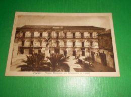 Cartolina Pagani - Piazza Municipio Con Monumento Ai Caduti 1936 - Salerno