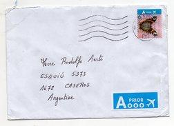BELGIEN BELGIQUE BELGIË 2016 NICE ALONE FRANKING A PRIOR TO ARGENTINA BUTTERFLY - Briefe U. Dokumente