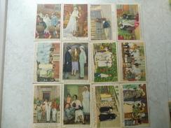 Carte Poste Cote D'or Chocolat Serie 3 Complete ( Reine Astrid )- Derde Reeks Koningin Astrid Chocolade Kaart - Belgique
