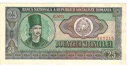 Romania  25  Lei, 1966, XF. - Roemenië