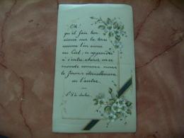 Image Pieuse Religieuse  Holly Card Peinte Parpier Parchemine - Devotion Images