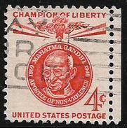 United States USA 1969  Mahatma Gandhi Apostle Of Non-Violence Used Stamp # AR:54 - Mahatma Gandhi