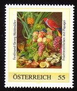 ÖSTERREICH 2008 ** Papagei Und Früchte / Gemälde Georg Waldmüller - PM Personalized Stamp MNH - Perroquets & Tropicaux