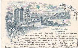 Lausanne -  Institut Maier - Litho Précurseur - 1901          (P-46-50201) - VD Vaud