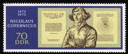 DDR 1973 ** Nikolaus Kopernikus / Astronom & Mathematiker - MNH - Astronomie