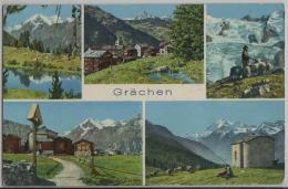 Grächen (1619 M) Multiview - Photo: Klopfenstein - VS Valais