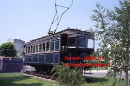 Reproduction D´une Photographie D'un Ancien Tramway à Laon En 1993 - Reproductions