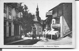 SAINT - GERVAIS - Les - BAINS     Plce De L'Eglise - Saint-Gervais-les-Bains