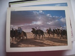 Tunesië Tunésie Douz With Camels - Tunesië