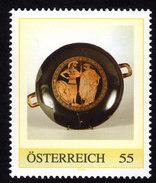 ÖSTERREICH 2008 ** Archäologie, Attische Schale / Maler Duris Um 500 V. Chr.- PM Personalized Stamp - MNH - Archäologie