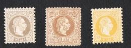 1867 Emperor Franz Joseph  2-25-50 SLD MH* EMPIRE TURKISH-AUSTRIA - 1850-1918 Impero