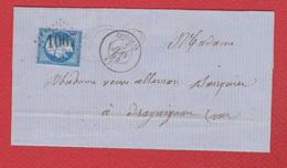 Lettre   / De Cogolin / Pour Draguignan   / 7 Juin 1864 - 1849-1876: Klassik