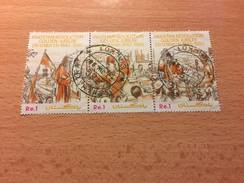 """Pakistan """"The 50th Anniversary Of Passing Of Pakistan Resolution"""", Strip Of 3, Anno 1990 - Pakistan"""