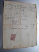 C. DELERS - REMY Mariembourg ( Peintures & Décors ) > Gravier Frasnes Anno 1922 ( Factuur ( Tax ) ) ! - Belgium