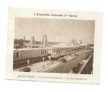 Chromo Exposition Coloniale 1931 Cité Des Informations Pub: Vache Qui Rit Spécimen Bien 76 X 58 Mm - Chromos
