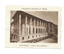 Chromo Exposition Coloniale 1931 Musée Des Colonies Pub: Vache Qui Rit Spécimen Bien 76 X 58 Mm - Chromos