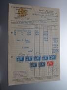 Van HAELEWEYCK Frères Bruxelles ( OREOR / Lustrerie-Pendules ) > Rance Anno 1929 ( Factuur ( Tax ) ) ! - Belgium