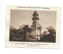 Chromo  Exposition Coloniale 1931 Côte Française Des Somalis Pub: Vache Qui Rit Spécimen Bien 76 X 58 Mm - Kaufmanns- Und Zigarettenbilder