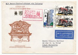 Allemagne DDR - Enveloppe - Sonder Flug Verkehr Leipziger Fruhyahrsmesse 1980 (Foire De Leipzig) - [6] Oost-Duitsland