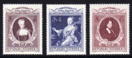 ÖSTERREICH 1980 ** Habsburger, Kaiserin Maria Theresia - Kompletter Satz MNH - Familias Reales