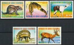 Guinée Équatoriale  - Animaux D'Amérique Du Sud, SC, Peu Courant. - Equatorial Guinea