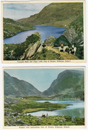 2 Old Postcards: Gap Of Dunloe, Killarney, Ireland - (Mac Series) - Kerry