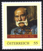 ÖSTERREICH 2008 ** Habsburger / Kaiser Franz Joseph I.- PM Personalized Stamp MNH - Koniklijke Families