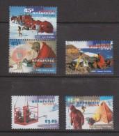 Australian Antarctic Territory 1997 ANARE Research Themes Set 5 MNH - Territoire Antarctique Australien (AAT)