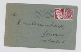 Belgie -Belgique PU76 Op Brief - Werbung