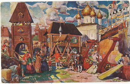 George Schlicht Avant Garde No 8 Einfuhrung Ausland Kaufleute Scene Aus Der Oper Sadko - Russia
