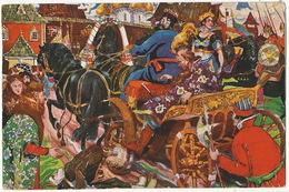 """George Schlicht Avant Garde No 9 A. Puschkin Marchen """" Das Goldene Hahnchen - Russia"""