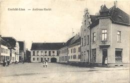 CPA Crefeld - Krefeld-Linn  Andréas Markt - Krefeld