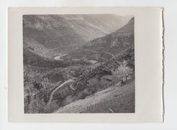 PHOTO Vers 1930 / SAINTE ENIMIE VUE DE LA ROUTE DE SAUVETERRE - Lieux