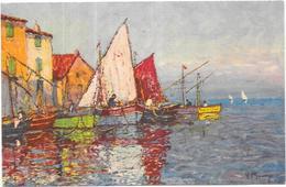 ILLUSTRATEUR   - CPA COLORISEE -  Le Port - ORL - - Künstlerkarten