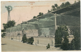 Lisboa Jardim Zoologico Jalas De Pequenos Carnivoros Eolienne Water Mill Edit Paulo Guedes - Lisboa