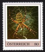 ÖSTERREICH 2015 ** Spinne, Spider, Wespenspinne / Argiape Bruennichi - PM Personalized Stamp MNH - Personalisierte Briefmarken