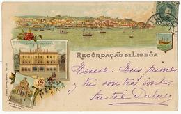 Lisboa Recordaçao Estaçao Central Kunzli Freres No 785 - Lisboa